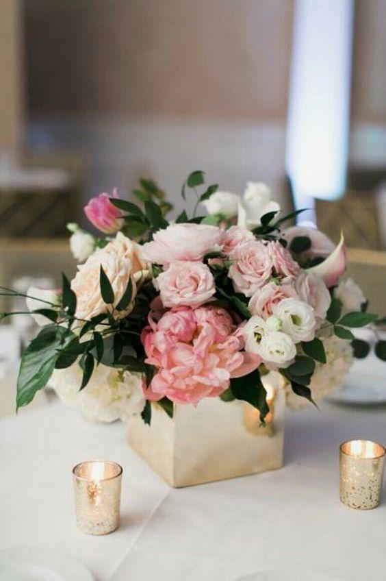centros mesa flores naturales quince anos 19 - Decora la casa per Sant Valentí