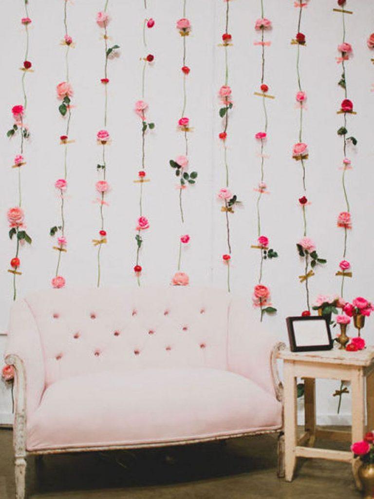 cortina de flores 768x1024 - Decora la casa per Sant Valentí